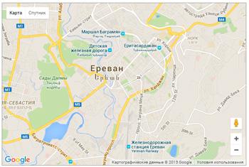 HTML5 Geolocation API - пример использование Google Maps API
