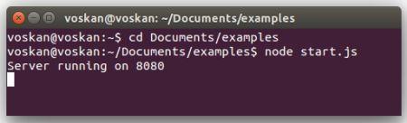 Создание и запуск HTTP-сервера на Node.js