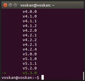 Установка Node.js на Linux Ubuntu