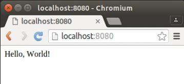 Запуск веб-сервера на Node.js